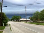 Storm clouds approaching Hammond, La.