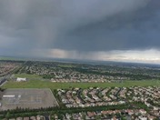 Drone video of storm over roseville 4/24/16
