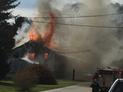 House Fire in Bavington Pa