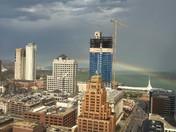 Rainbows in Downtown Milwaukee