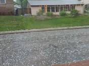 Hail in Westport