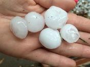Hail in Buckner, MO