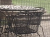 Hailing in Anderson TWP