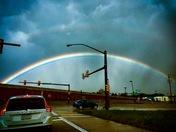 Rainbow in Lancaster 4/26/16