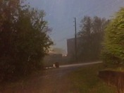 Driving rain in Leitchfield, KY