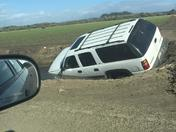 SUV accident in Watsonville