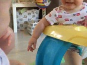 Laughing babies makes you giggle