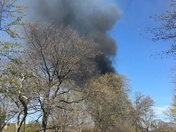 Fire at the fens