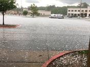 Hail at Central Mall