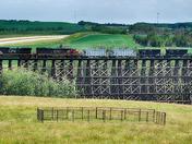 Old Wooden Railway ,Alberta