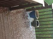 Hail in Liberty Township