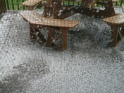 Hail storm North Huntingdon