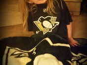 Holly is a Pittsburgh Penguin Fan