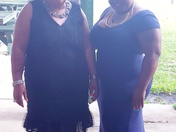 Latashia Goodrich with mother Mary Goodrich