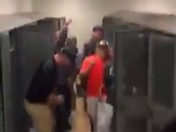 AAA section Champs Yough Cougars Running man Challenge celebration