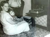 Godmother Lydia, Mama Gloria, and me Kathleen