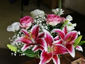 my Mother's Day flowers 5-8-2016