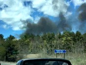 Fire on 101a