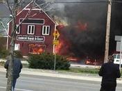 Amherst fire
