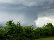 Stillwater tornado forming