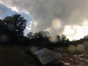 Time Lapse Video of Wall Cloud over Bethel Acres