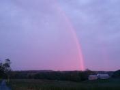 Beautiful Pink Rainbow