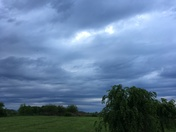 Clouds in Shelby County