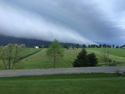 Wall Cloud in Shelby County