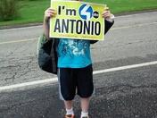 Im for Antonio