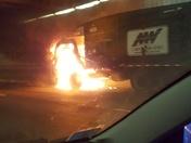 Fire in O'Neill Tunnel