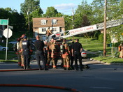 Duplex fire at Tinaview Ct and Westwood Northern BLVD