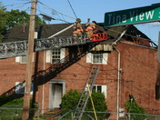 Duplex fire at Tinaview Court and Westwood Northern BLVD