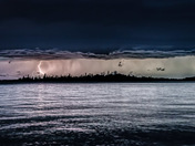 August Lightning on Lac La Ronge