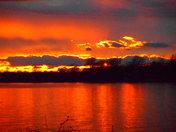 Alburg sunset