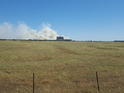 Fire behind Thunder Valley Casino