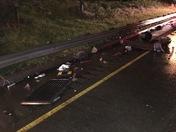 Semi truck accident on I-75 north