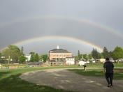 Double rainbow in Charlton