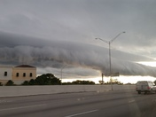 Shelf Cloud taken today