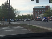 Manchester police involved accident