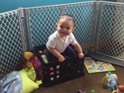 Nathan Adrian Trujillo's 1st Birthday
