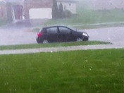 Crazy Hail Storm May 23rd