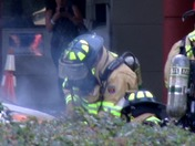 Car Fire at Deland Hospital- Firefighters to the Rescue