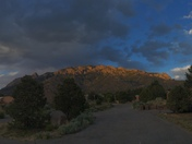 Panorama of the Sandias.