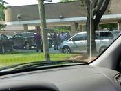 Wells Fargo Police Scene