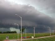 Wall cloud today
