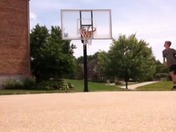 Crazy Basketball Trickshot