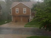 video of blowing wind and rain in Lee's Summit, MO