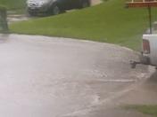 Heavy Rain in Blue Springs