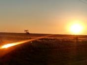 Beautiful morning in OKLAHOMA