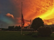 Memorial Day Sunset In North Conway